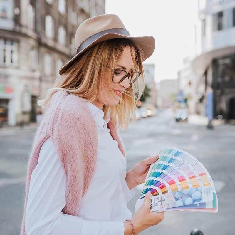 paleta kolorystyczna dla marki